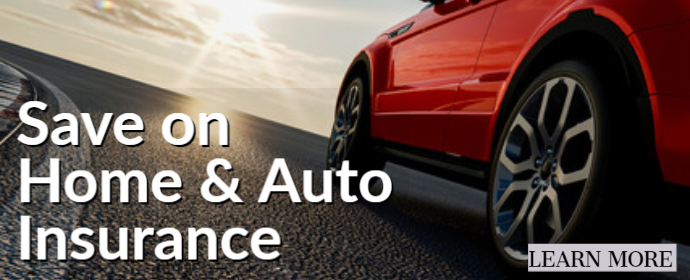 Save on Home & Auto Insurance Learn more